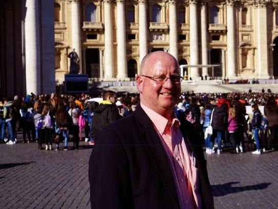 Fremont native Hal Hawk visits Rome, where a program