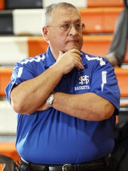 FILE -- Lou Bonora during his time as coach of the