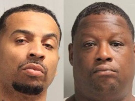 Reginald Dewayne Smith (left) and Buford Dewayne Brimzy