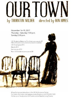 """Our Town"" opens Thursday at USI."