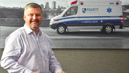Bryan Gibson, CEO of Priority Ambulance, June 24, 2016