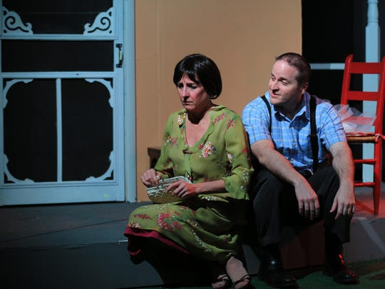 Susan Boudreaux and Bret Ioli in Chapel Street's 'Picnic'