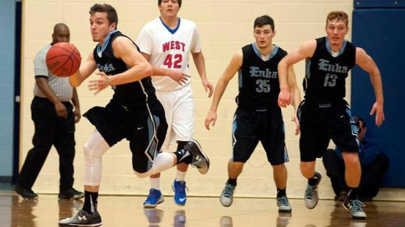 Enka won Tuesday's game at West Henderson, 53-51.