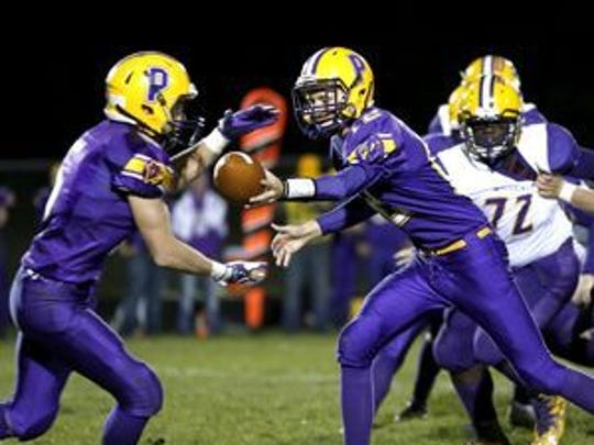 Senior quarterback Sam Hardinger and the Pittsville football team open the Division 7 playoffs at home against Wisconsin Rapids Assumption on Friday. Kickoff is set for 7 p.m.
