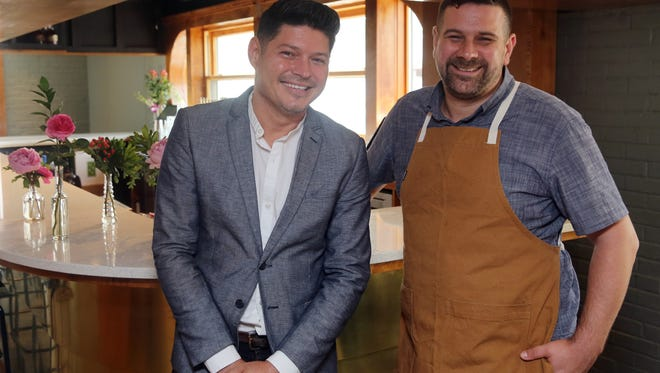 Mikey Corona is the general manager and Brian Riggenbach is the executive chef at The Mockingbird.