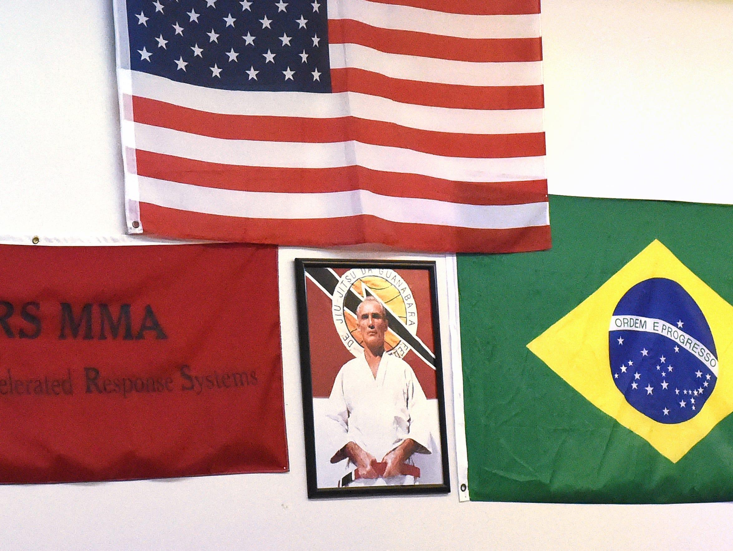A photo of Brazilian martial artist HŽlio Gracie, father