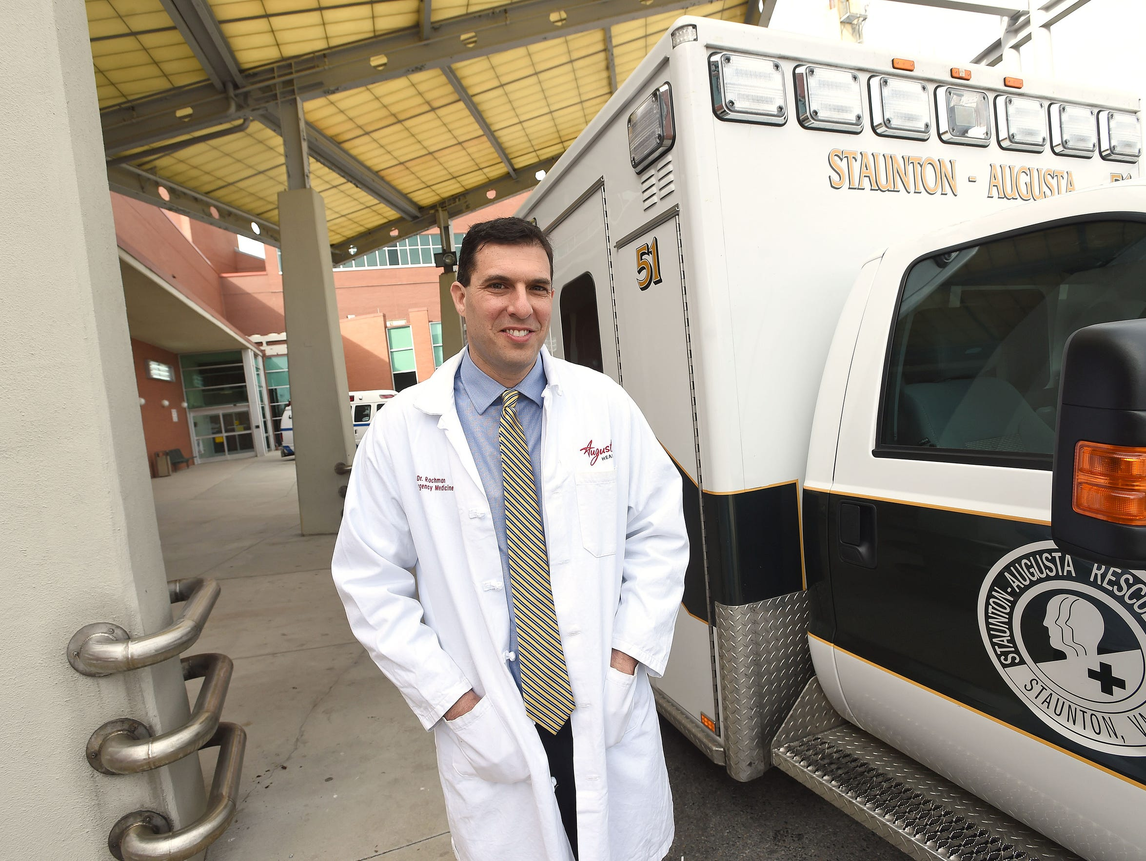 Dr. Adam Rochman serves as medical director of the
