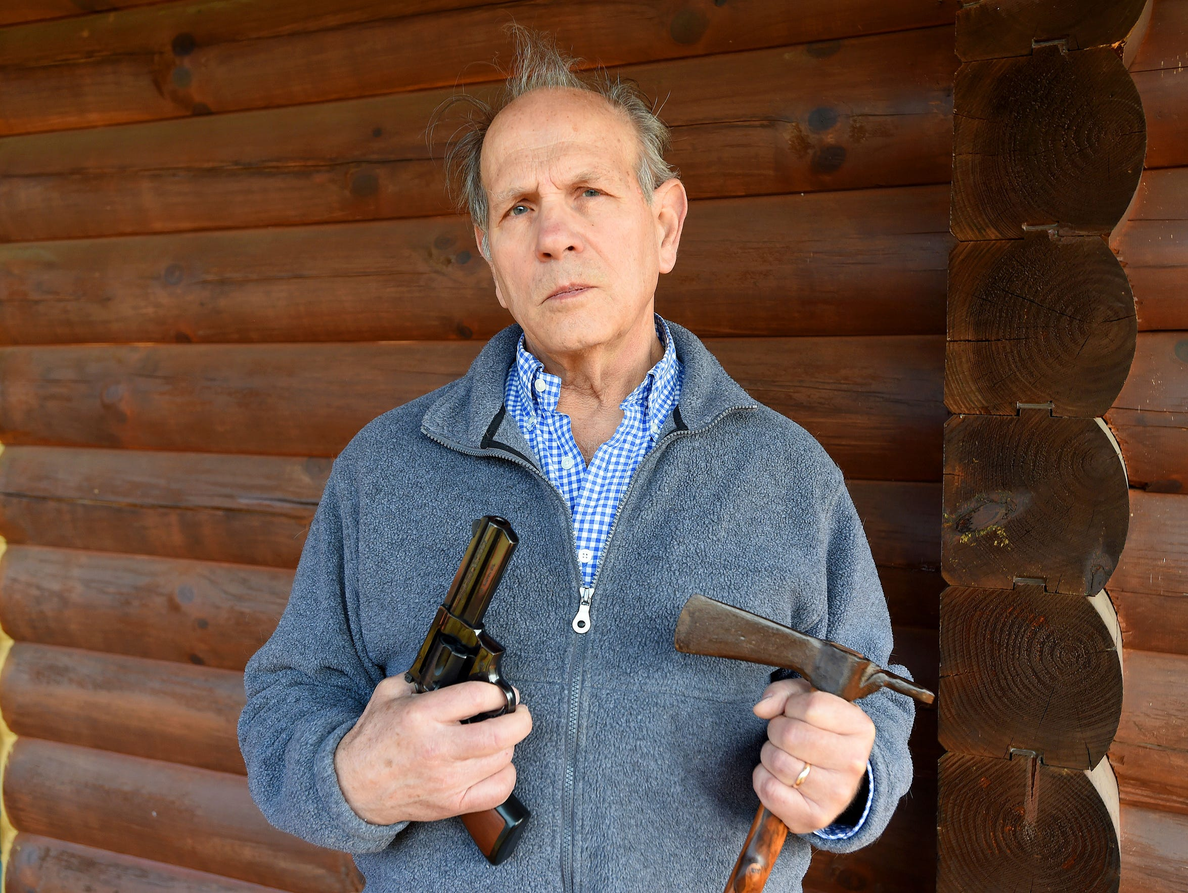 Jim Lambiase appreciates the mechanics of firearms