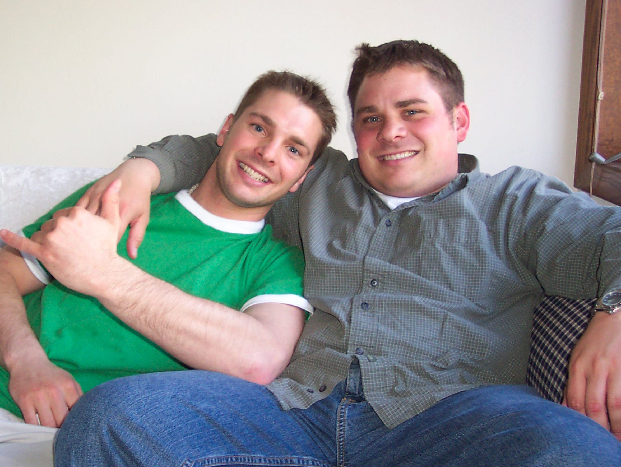 Micah Campbell, right, died from the effects of diabetes
