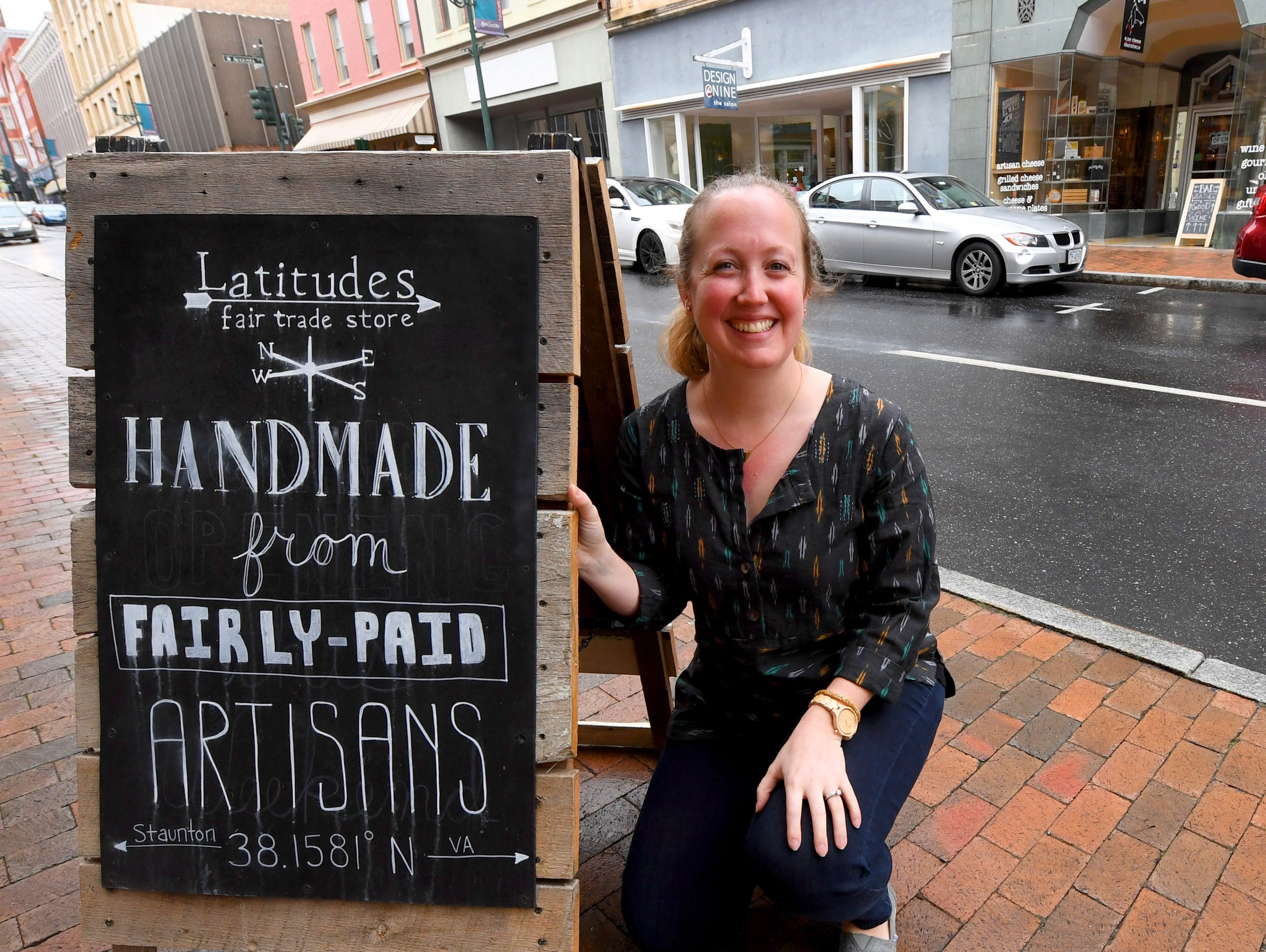 Anna Schoenduby is owner of Latitudes Fair Trade in