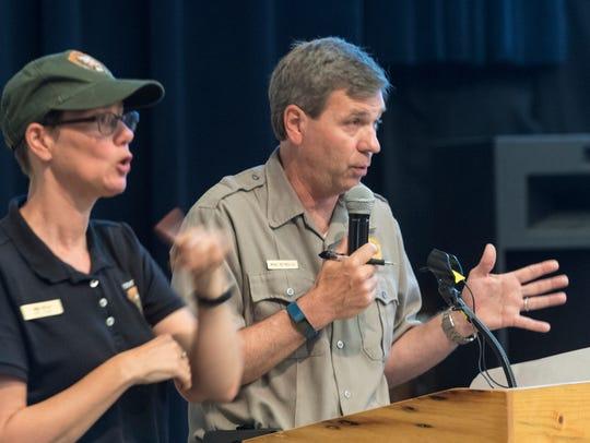 Yosemite National Park Superintendent Mike Reynolds,