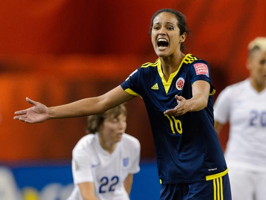 England v Colombia: Group F - FIFA Women's World Cup 2015