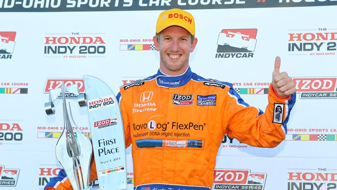 Charlie Kimball's lone IndyCar series win came in 2013 at the Mid-Ohio race. Kimball starts the 2017 season with the goal of reaching the podium more often, including adding a few more wins to his resume.