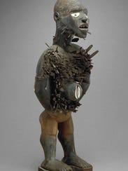 """Power Figure,"" by unknown artist, 19th century, Kongo"