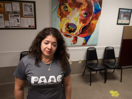 Cheryl Martinez, President of People Assisting Animal
