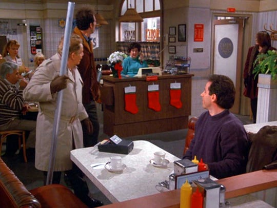 Get your Festivus pole ready, like Frank Costanza (Jerry