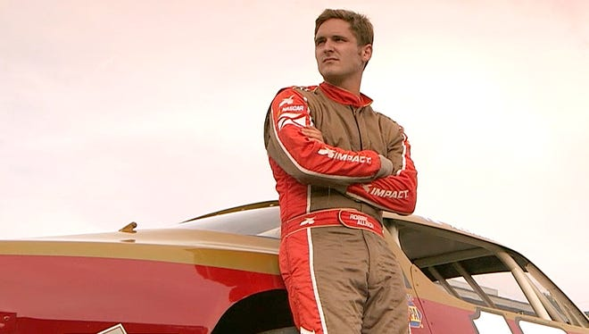 Robbie Allison, 23, only son of NASCAR Cup driver Davey Allison, says racing is a ''spiritual thing for me.''