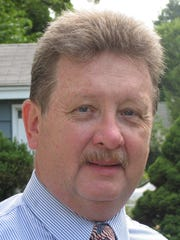 Dumont Borough Administrator/CFO Raymond Herr, who is retiring at the end of the month.