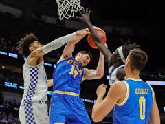 Kentucky basketball takes on UCLA. See scenes from the game