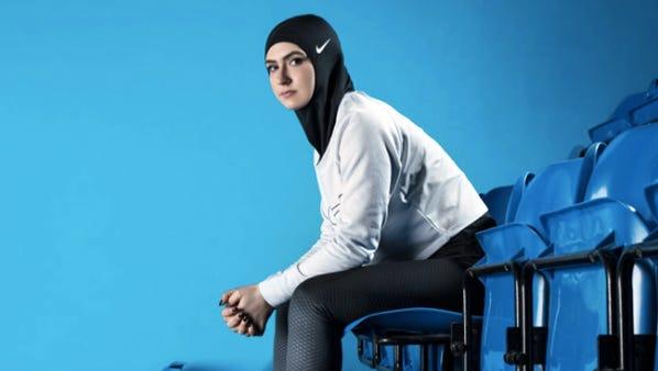 Nike's new Pro Hijab.