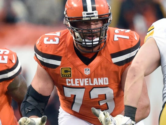 Cleveland Browns offensive lineman Joe Thomas, a Brookfield Central alumnus, didn't miss a snap for more than 10 seasons before a torn tricep muscle sent him to injured reserve this year. Thomas is a lock to join the Pro Football Hall of Fame once his playing days are over.