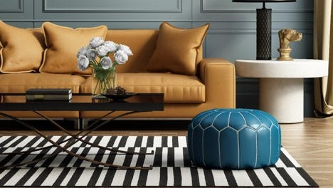 Understand the do's and don'ts of design when it comes to picking the right area rug.
