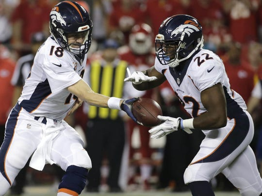 C.J. Anderson won a Super Bowl during the 2015 season with the Broncos.