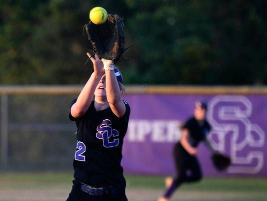 High School Softball: Mulberry at Space Coast