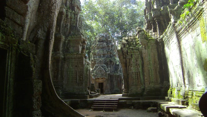 The exotic Ta Prohm ruins overgrown with jungle roots intrigue photographers and cinematographers.