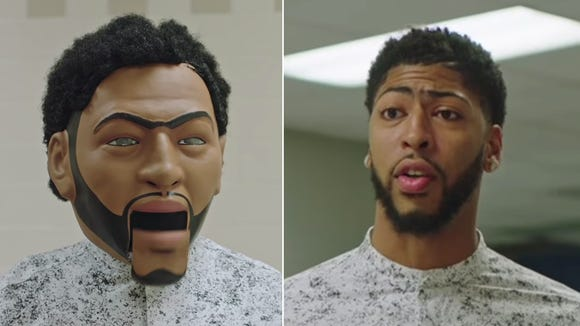 Anthony Davis Has Dancing Robot Assistant