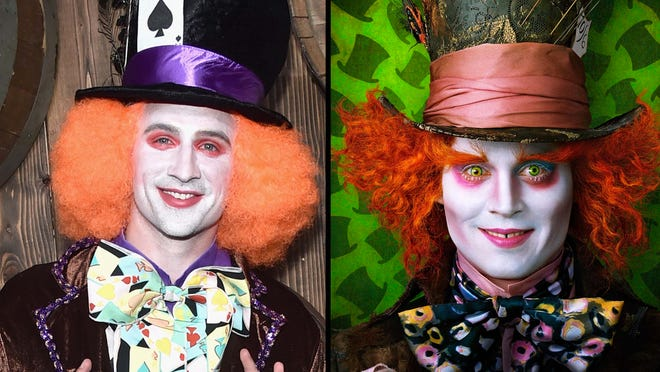 Ryan Lochte's Halloween costume was pretty much just as terrifying as Johnny Depp's character.