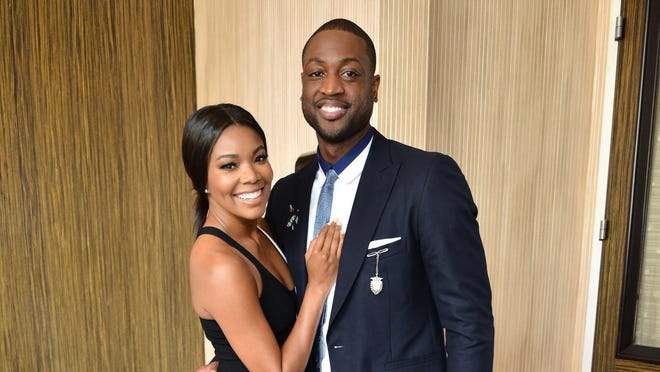 Gabrielle Union and Dwyane Wade attend Step Up's 13th annual inspiration awards on May 20, 2016 in Beverly Hills, California.
