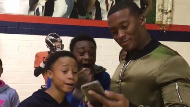 These kids were really excited to FaceTime Jimmy Butler.
