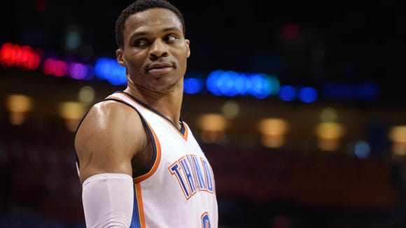 USP NBA: DENVER NUGGETS AT OKLAHOMA CITY THUNDER S BKN USA OK