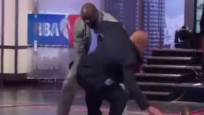 An ordinary night on Inside the NBA.