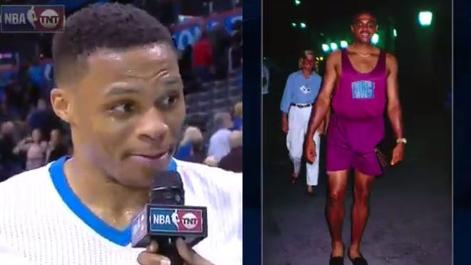 NBA fashion king Russell Westbrook shared his opinion.