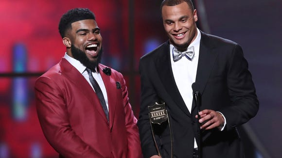 AP 6TH ANNUAL NFL HONORS - SHOW A ENT CPAENT USA TX