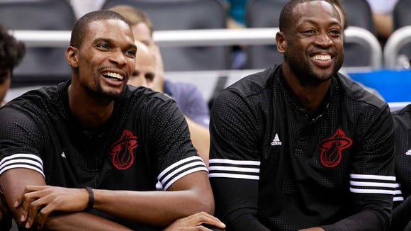 The Wade-Bosh family friendship is bigger thank basketball.