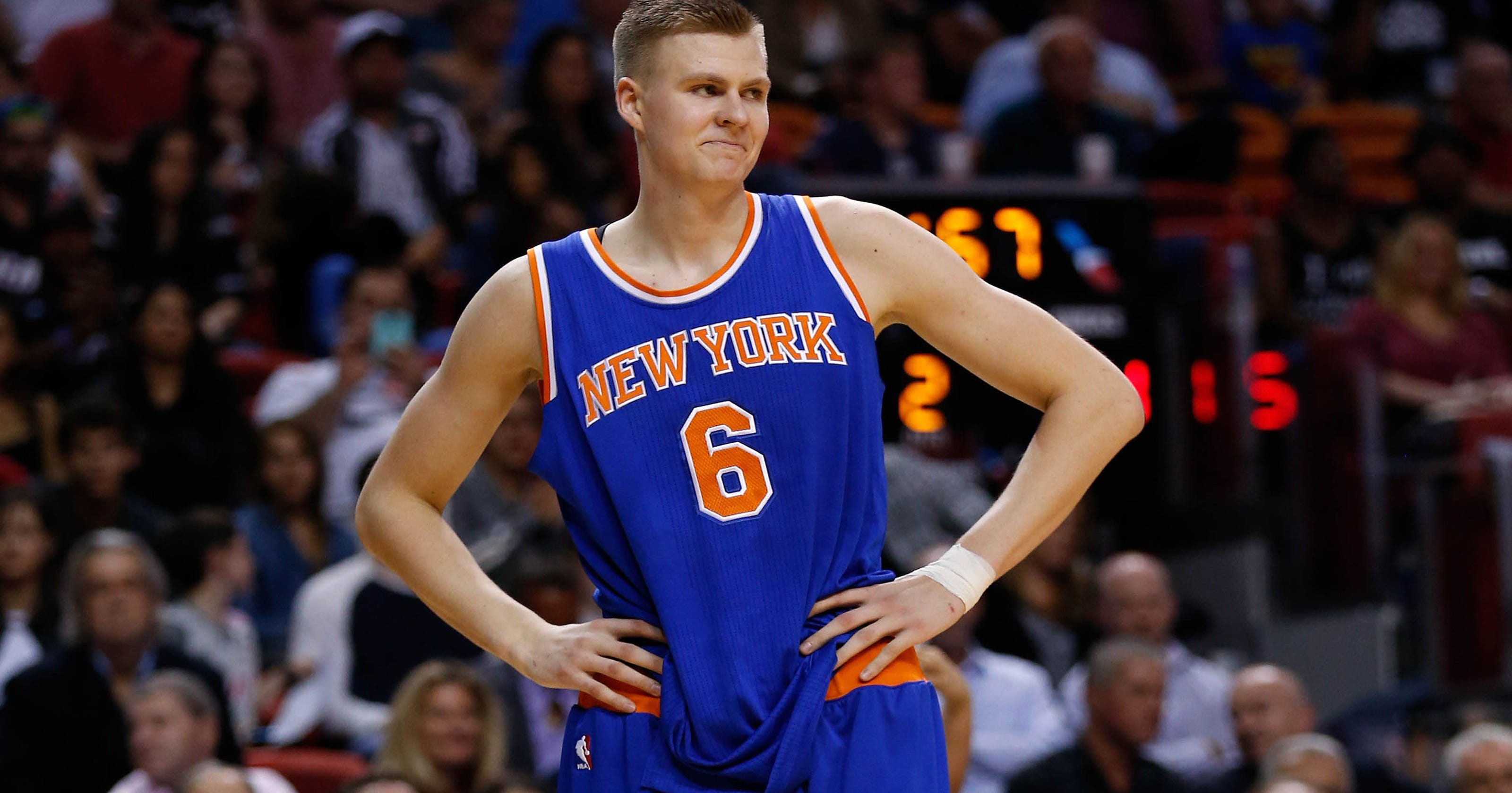 a5854dc0abd New York Knicks are long-term losers after Kristaps Porzingis trade