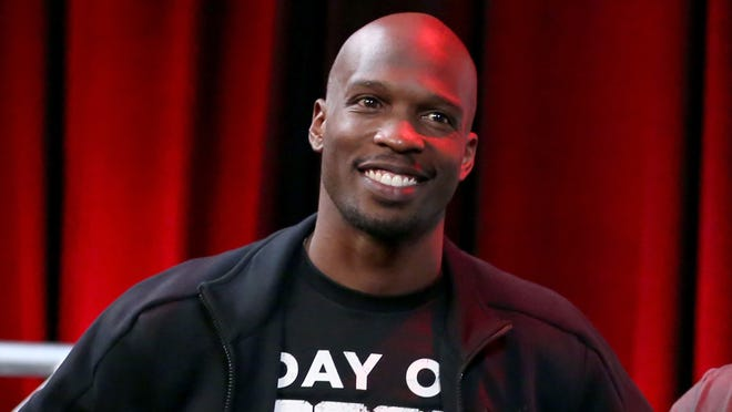 Chad Johnson, who has also gone by Chad Ochocinco,is in town while his daughter is competingin the AAU Junior Olympic Games. He's passed some of the time by taking on anyone willing to battle him in FIFA.