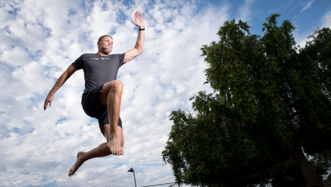 Dan O'Brien, Scottsdale won the Olympic gold in Decathalon in the 1996 Atlanta Olympics as well as three world championships during his track and field career. He suffered from a bulging disc several and was treated non-surgically at Catalyst Pain Solutions.