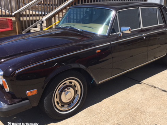 A 1980 Rolls-Royce Silver Shadow II donated to the