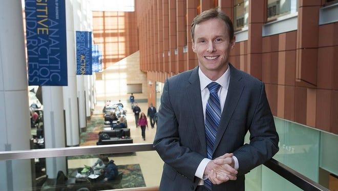 Scott DeRue has been named dean of the Ross School of Business.