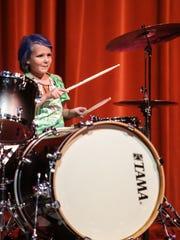 Saturday July 26th, 2014, Supernova drummer, Violet