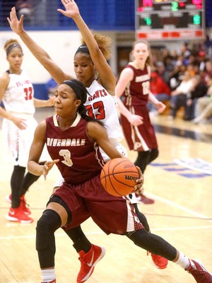 Riverdale's Anastasia Hayes has narrowed her college choices to six.