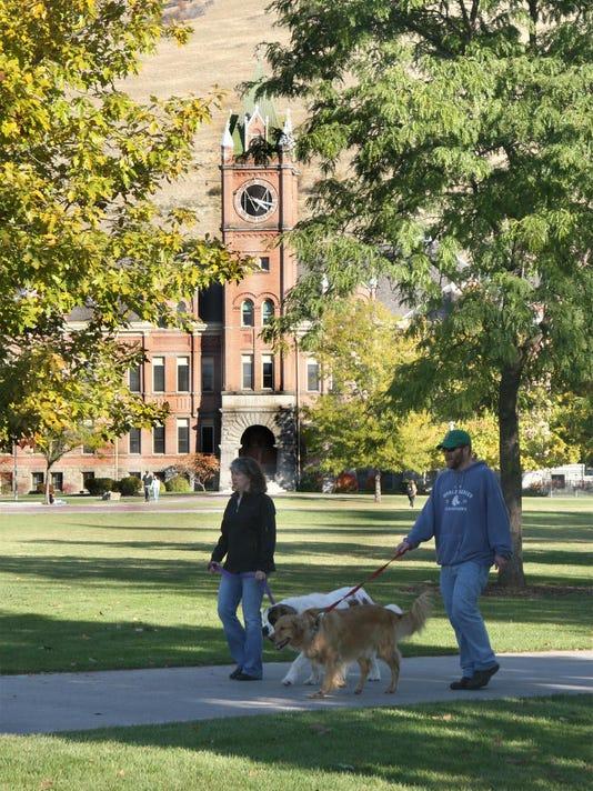 um campus
