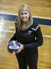 Kelly Elliott led the TCA volleyball back to the Class A state tournament after graduating the majority of the previous year's team.