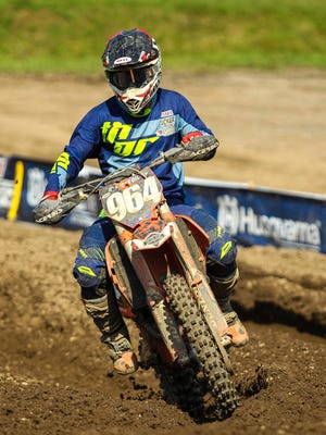 Sean Ballard from Whitney Point qualified in the 250 class.