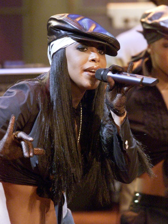 The Tonight Show with Jay Leno - Aaliyah