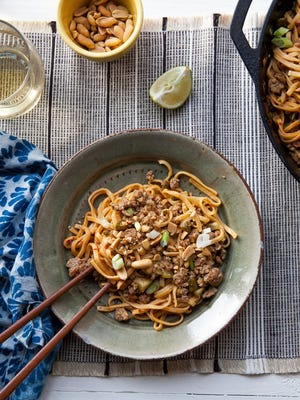 Dan Dan Noodles, featuring extra long noodles, is a dish with a deep meaning in Chinese culture.